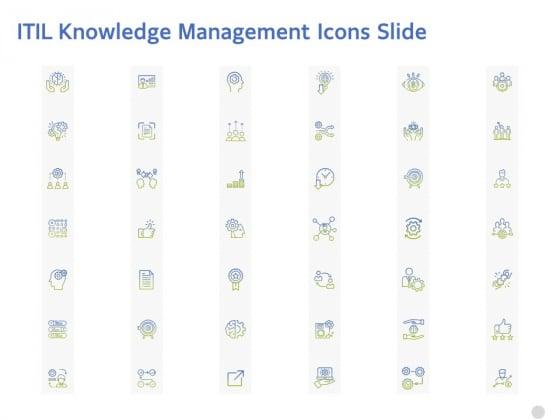 ITIL_Knowledge_Management_Icons_Slide_Ppt_Outline_Skills_PDF_Slide_1