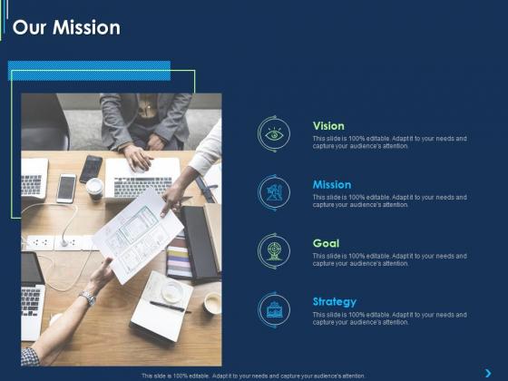 ITIL Strategy Change Management Our Mission Ppt Portfolio Outline PDF