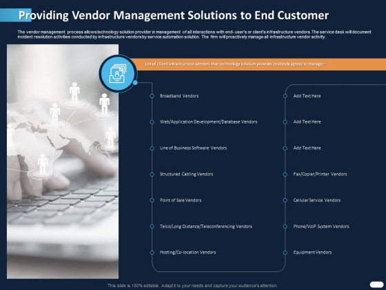 ITIL_Strategy_Service_Excellence_Providing_Vendor_Management_Solutions_To_End_Customer_Equipment_Ppt_PowerPoint_Presentation_Icon_Designs_Download_PDF_Slide_1