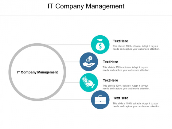IT Company Management Ppt PowerPoint Presentation Outline File Formats Cpb