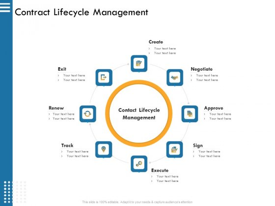 IT Infrastructure Governance Contract Lifecycle Management Ppt Infographics Format PDF