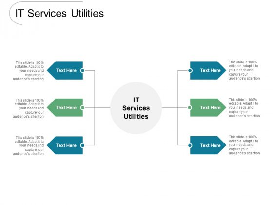 IT Services Utilities Ppt PowerPoint Presentation Gallery Professional Cpb Pdf