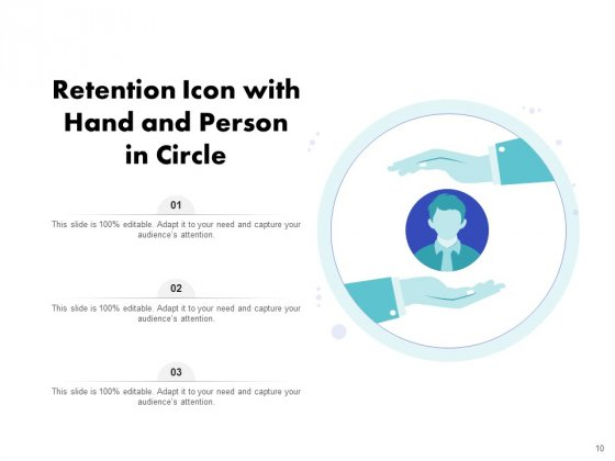 Icon_For_Retaining_Customer_Circle_Arrow_Document_Employee_Retention_Ppt_PowerPoint_Presentation_Complete_Deck_Slide_10
