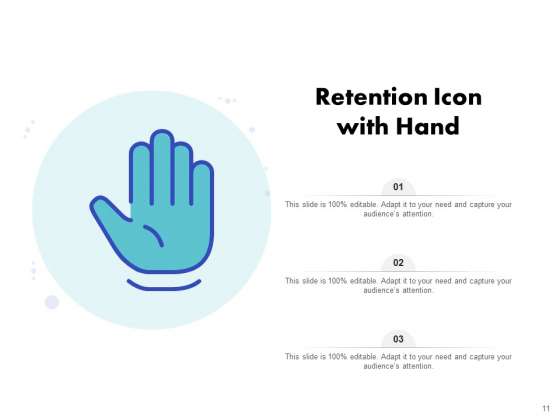 Icon_For_Retaining_Customer_Circle_Arrow_Document_Employee_Retention_Ppt_PowerPoint_Presentation_Complete_Deck_Slide_11
