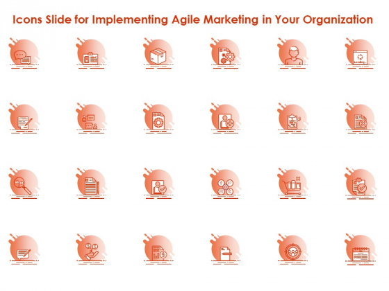 Icons Slide For Implementing Agile Marketing In Your Organization Ppt File Introduction PDF
