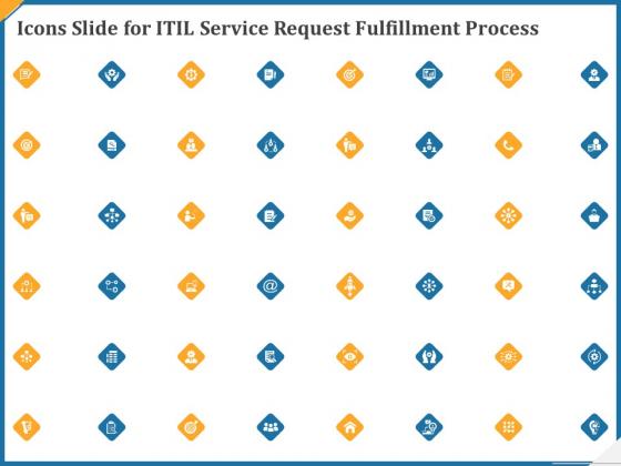 Icons Slide For Itil Service Request Fulfillment Process Ppt Portfolio Deck PDF