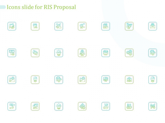 Icons Slide For RIS Proposal Ppt PowerPoint Presentation Inspiration Objects PDF