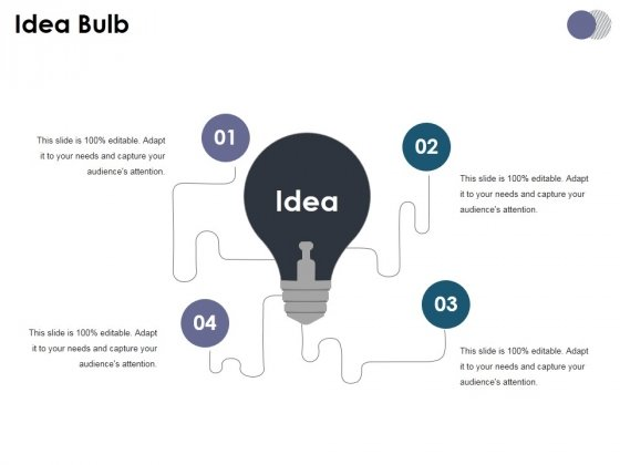 Idea Bulb Ppt PowerPoint Presentation Gallery Design Inspiration