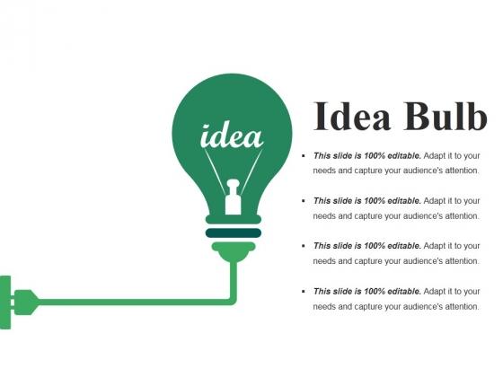 Idea Bulb Ppt PowerPoint Presentation Ideas Graphic Images