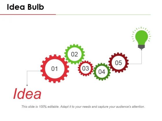 Idea Bulb Ppt PowerPoint Presentation Styles Outline
