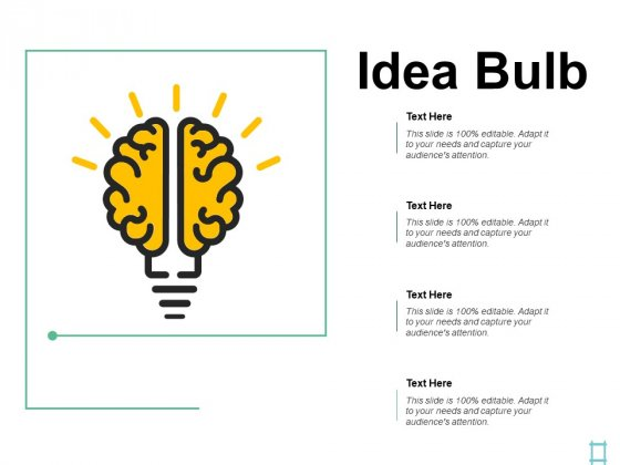 Idea Bulb Technology Planning Ppt PowerPoint Presentation Infographic Template Visual Aids