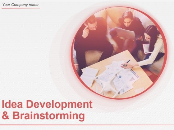 Idea Development And Brainstorming Ppt Sample Download