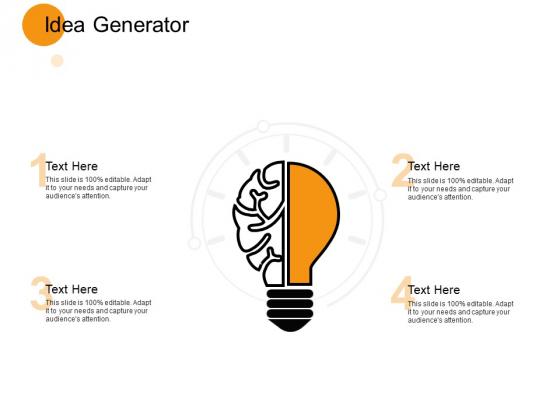 Idea Generate Innovation Ppt PowerPoint Presentation Icon Templates