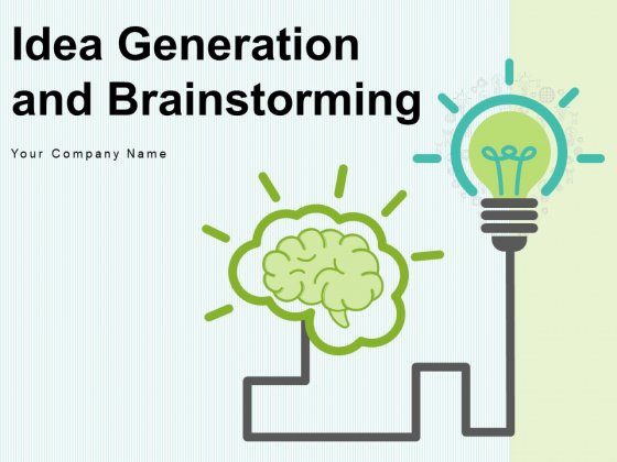 Idea Generation And Brainstorming Planning Business Icons Gear Ppt PowerPoint Presentation Complete Deck