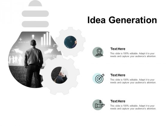 Idea Generation Arrows Ppt PowerPoint Presentation Professional Outfit