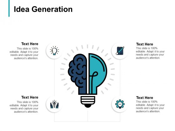 Idea Generation Innovation Ppt PowerPoint Presentation Icon Backgrounds