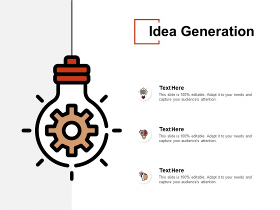 Idea Generation Innovation Ppt PowerPoint Presentation Inspiration Design Ideas