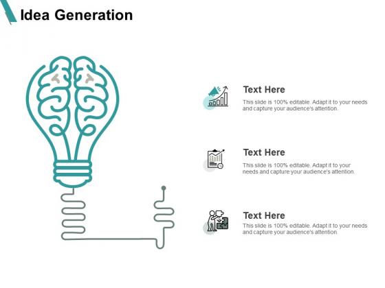 Idea Generation Innovation Ppt PowerPoint Presentation Inspiration Slide Download