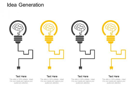 Idea Generation Innovation Ppt PowerPoint Presentation Model Deck