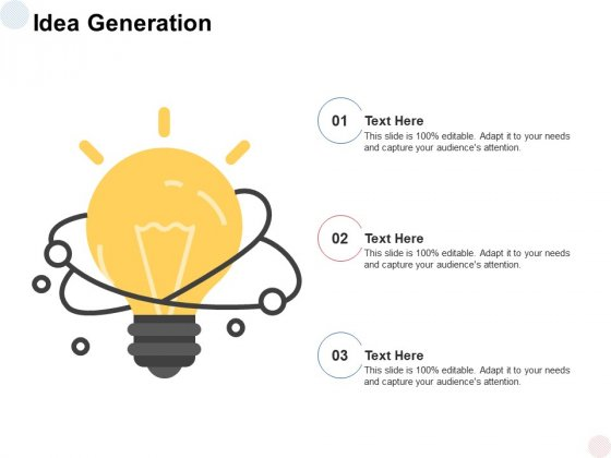 Idea Generation Innovation Ppt PowerPoint Presentation Model Styles