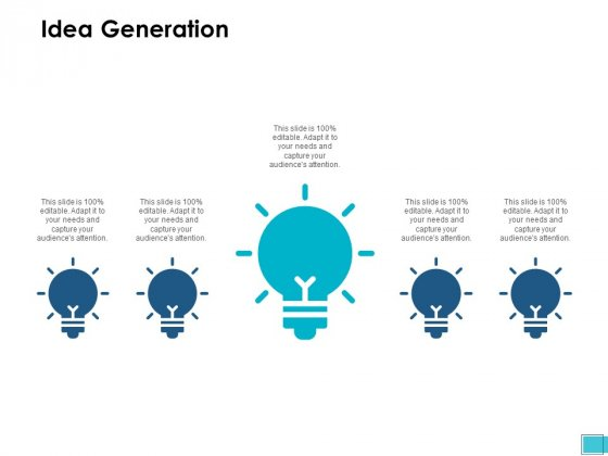 Idea Generation Innovation Ppt PowerPoint Presentation Pictures File Formats