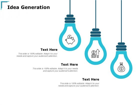 Idea Generation Innovation Ppt PowerPoint Presentation Pictures Graphics Download