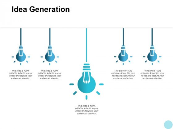 Idea Generation Innovation Ppt PowerPoint Presentation Portfolio Infographic Template