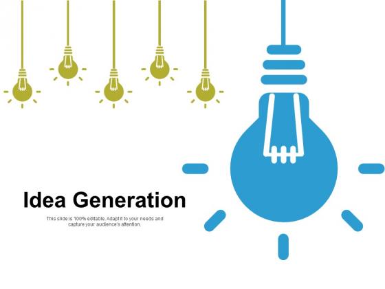 Idea Generation Innovation Ppt PowerPoint Presentation Styles Clipart