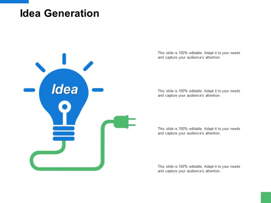 Idea Generation Innovation Ppt PowerPoint Presentation Styles Example