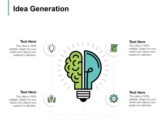 Idea Generation Knowledge Innovation Ppt PowerPoint Presentation Layouts Icon