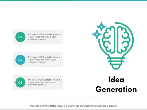 Idea Generation Knowledge Ppt PowerPoint Presentation Pictures Infographic Template