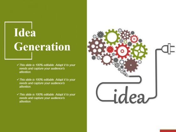 Idea Generation Ppt PowerPoint Presentation Gallery Example File