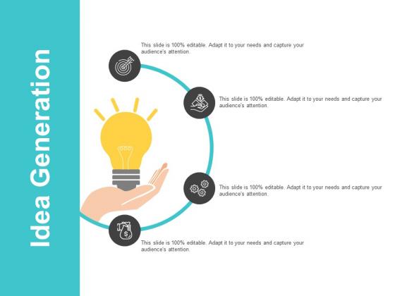 Idea Generation Ppt PowerPoint Presentation Infographic Template Background Designs