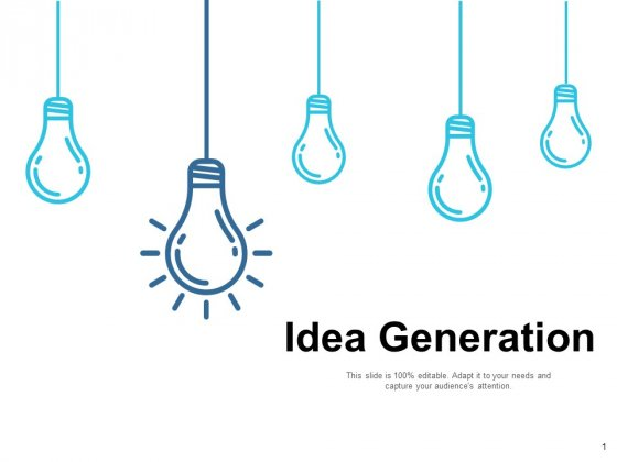 Idea Generation Ppt PowerPoint Presentation Infographics Portfolio