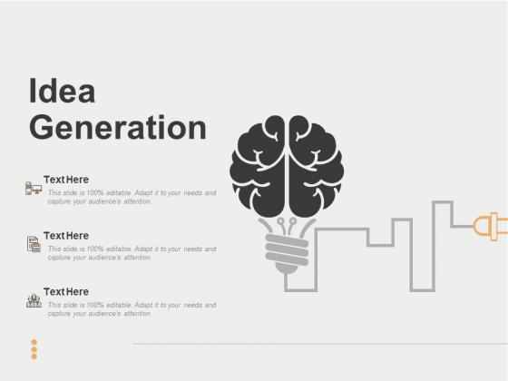 Idea Generation Ppt PowerPoint Presentation Slides Background Image