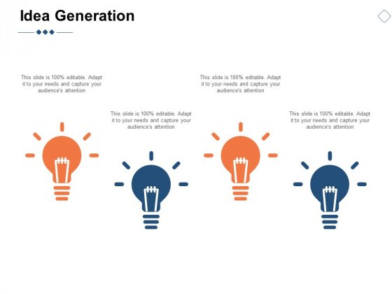 Idea Generation Technology Innovation Ppt PowerPoint Presentation Show Slide Download