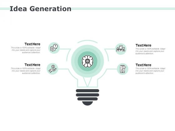 Idea Generation Technology Ppt PowerPoint Presentation Gallery Graphics Tutorials