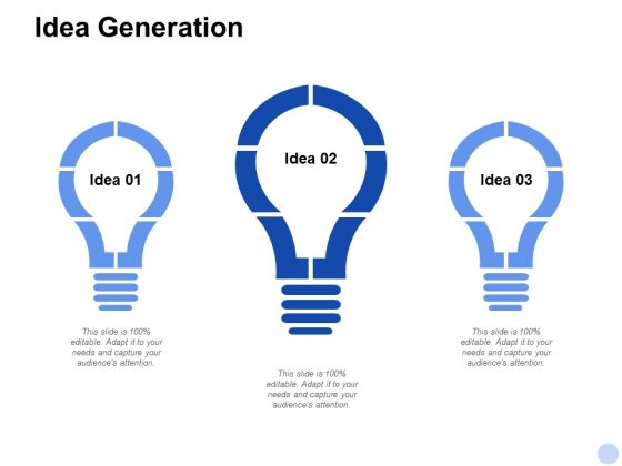 Idea Generation Technology Ppt PowerPoint Presentation Infographic Template Clipart