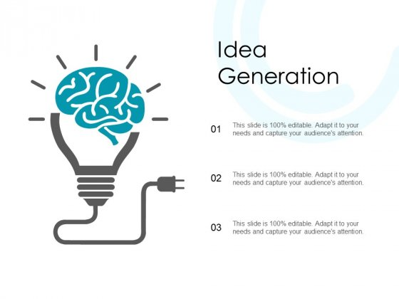 Idea Generation Technology Ppt PowerPoint Presentation Infographic Template Gallery