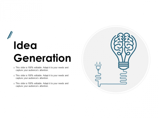Idea Generation Technology Ppt PowerPoint Presentation Infographics Show