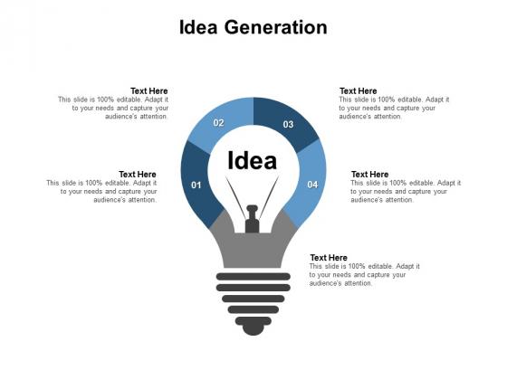 Idea Generation Technology Ppt PowerPoint Presentation Outline Background Designs