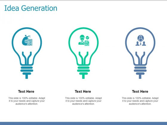 Idea Generation Technology Ppt PowerPoint Presentation Pictures Model