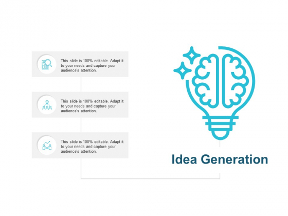 Idea Generation Technology Ppt PowerPoint Presentation Professional Graphics