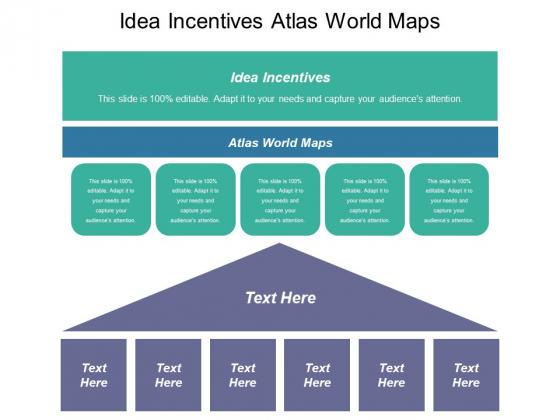 Idea Incentives Atlas World Maps Ppt PowerPoint Presentation Inspiration Visual Aids