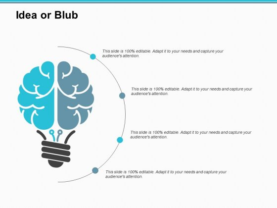 Idea Or Blub Technology Ppt PowerPoint Presentation Infographic Template Slides