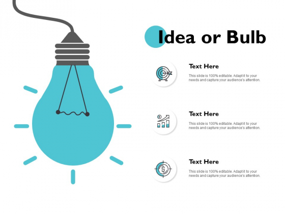 Idea Or Bulb Innovation Management Ppt PowerPoint Presentation Gallery Skills