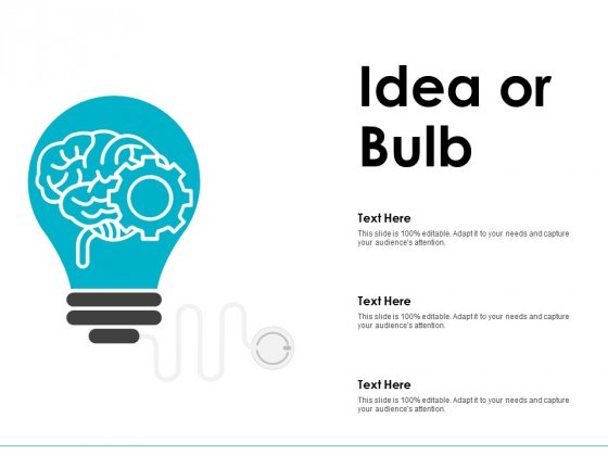 Idea Or Bulb Innovation Management Ppt PowerPoint Presentation Professional Show