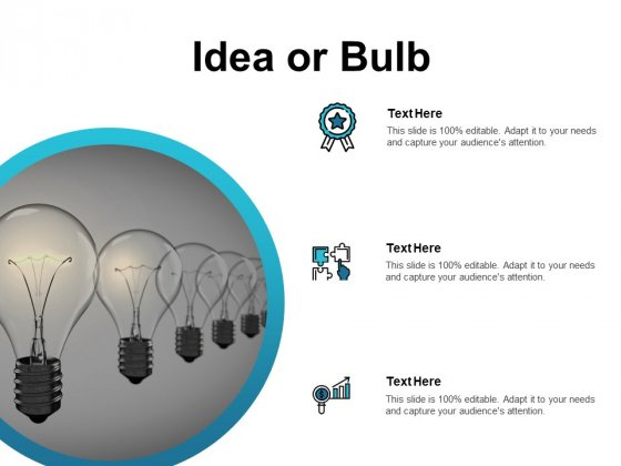 Idea Or Bulb Innovation Ppt PowerPoint Presentation Model Designs