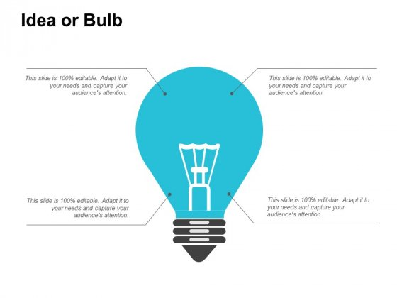 Idea Or Bulb Innovation Ppt PowerPoint Presentation Model Inspiration