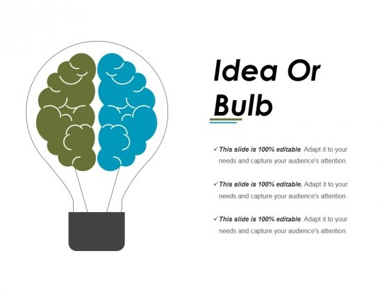 Idea Or Bulb Ppt PowerPoint Presentation Professional Background Designs